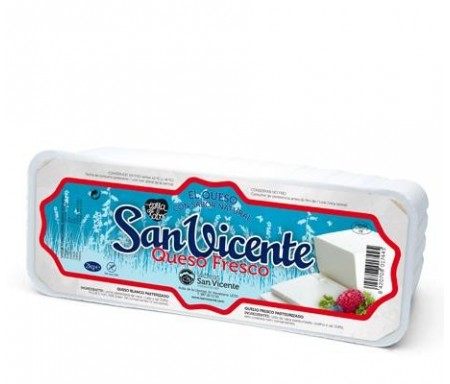 SAN VICENTE QUESO FRESCO TARRINA 1KG