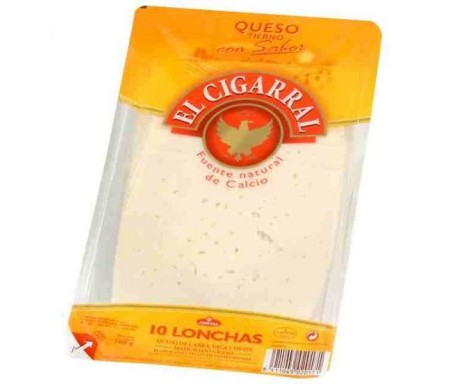 CIGARRAL QUESO LONCHAS 200gr