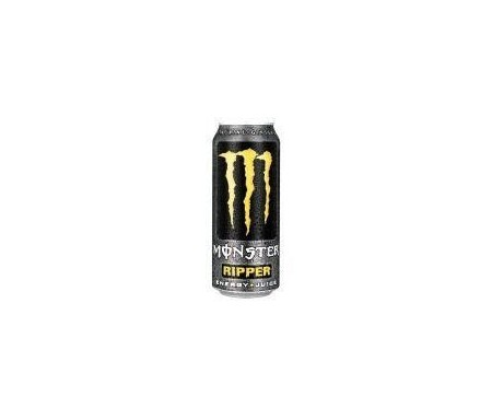 MONSTER RIPPER BEBIDA ENERGETICA LATA 500ML.