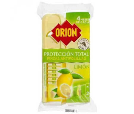 ORION PINZAS ANTIPOLILLAS LIMON 2 UND