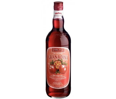 DROS'L LICOR GRANADINA S/ALCOHOL 70cl