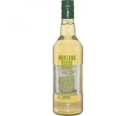 TRIAL LICOR DE MANZANA SIN ALCOHOL 70CL