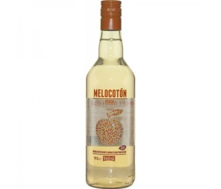 TRIAL LICOR DE MELOCOTON SIN ALCOHOL 70CL