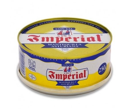 TINEO MANTEQUILLA IMPERIAL CON SAL  LATA 250 GR.