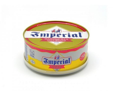 TINTEO MANTEQUILLA IMPERIAL SIN SAL LATA 250GR