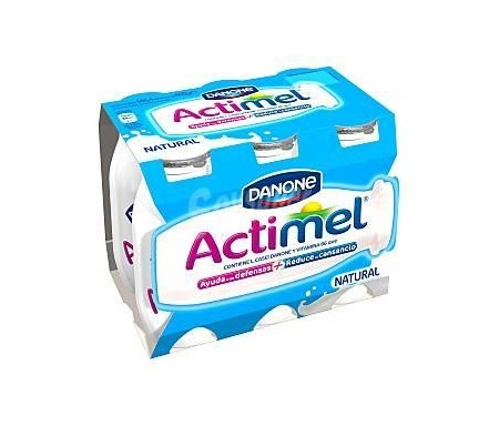 DANONE ACTIMEL  NATURAL 100ml Pack 6