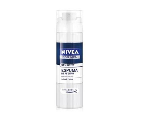NIVEA ESPUMA DE AFEITAR SENSITIVE 200ML