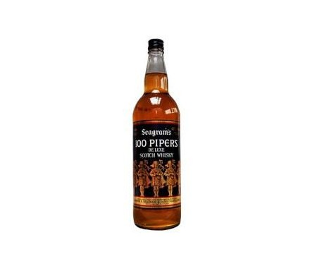 100 PIPERS WHISKY 70cl