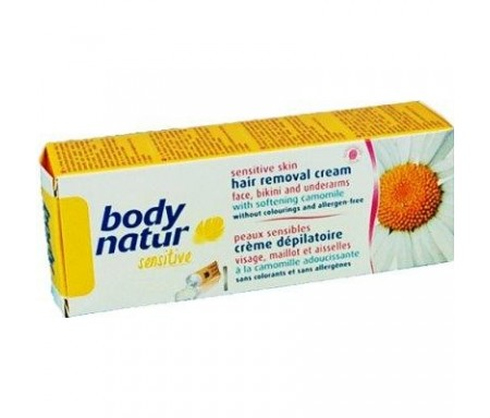 BODY NATUR CREMA DEPILATORIA PIEL SENSIBLE 100ML