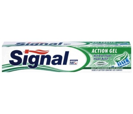 SIGNAL DENTRIFICO ACTION GEL 75ML