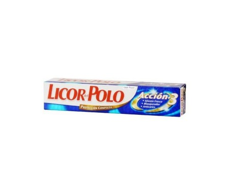 LICOR DEL POLO DENTRIFICO ACCION 3 75ML.