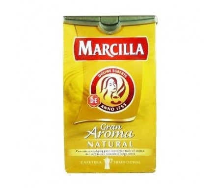 MARCILLA CAFE NATURAL MOLIDO 250gr