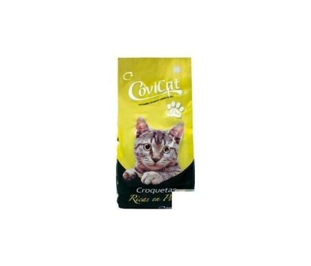 COVIRAN COVI-CAT GATOS SECOS MIX CARNE 1,5Kg