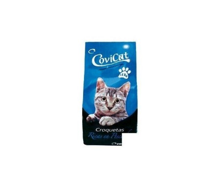 COVIRAN COVI-CAT GATOS SECOS MIX PESCA 1,5Kg