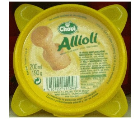 CHOVI ALLIOLI 200 ml