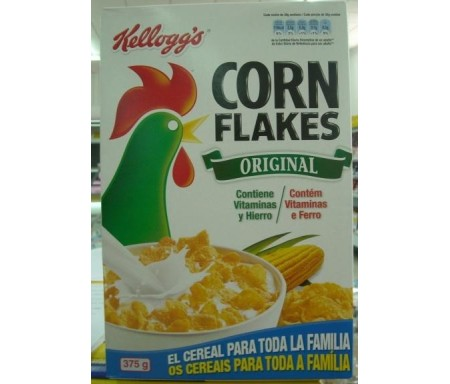 CORN FLAKES KELLOG`S CEREALES 375gr