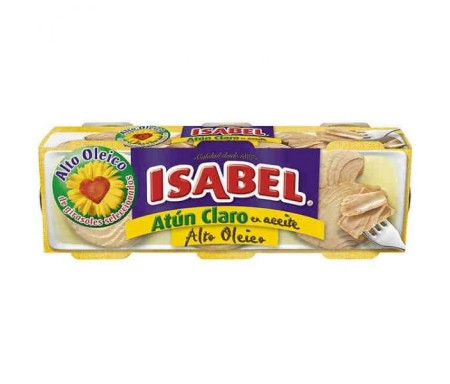 ATUN CLARO ISABEL 52 GRS. PACK-3 F.A.