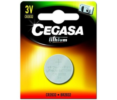 CEGASA PILA LITIO CR2032 3V