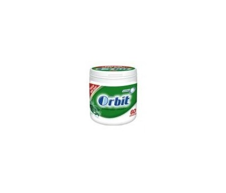 ORBIT CHICLES HIERBABUENA BOX 60 GRAGEAS