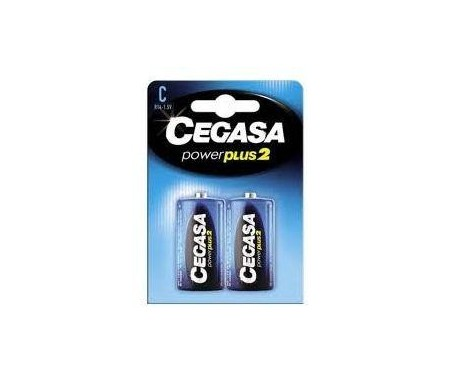 CEGASA PILAS POWER PLUS2 C R14 PACK-2