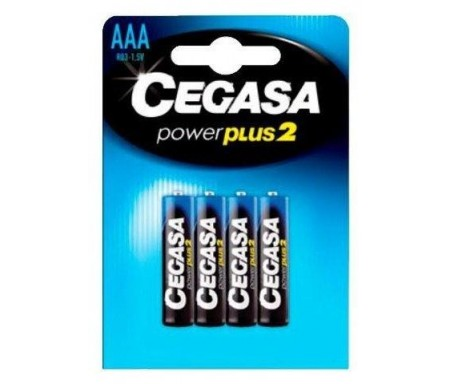 CEGASA PILAS  POWER PLUS2 R03 AAA PACK-4