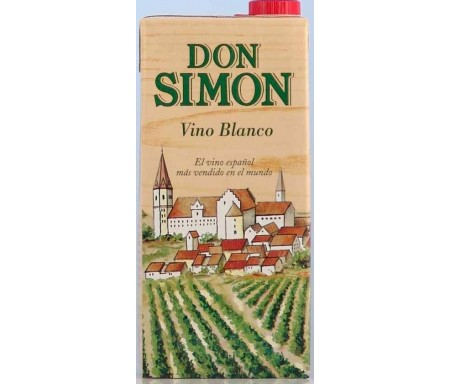 DON SIMON VINO BLANCO BRIK 1L