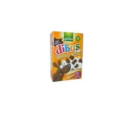 GALLETA DIBUS MINI GULLON 250 GRS