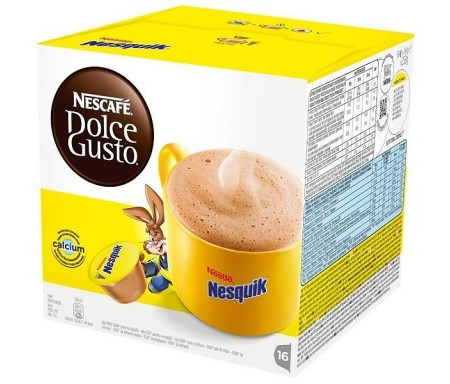 NESCAFE DOLCE GUSTO  NESQUIK 16 UNID.