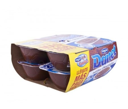 DANONE DANET  CHOCOLATE 125grs PACK-8