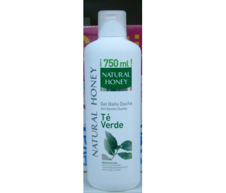 NATURAL HONEY GEL BAÑO TE VERDE 650 ML