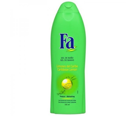 FA  GEL FRESCOR LIMONES 650 ML