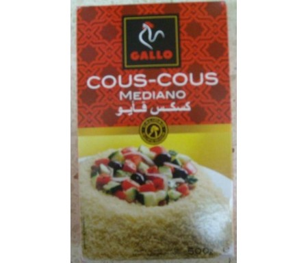 GALLO COUS-COUS MEDIANO 500gr