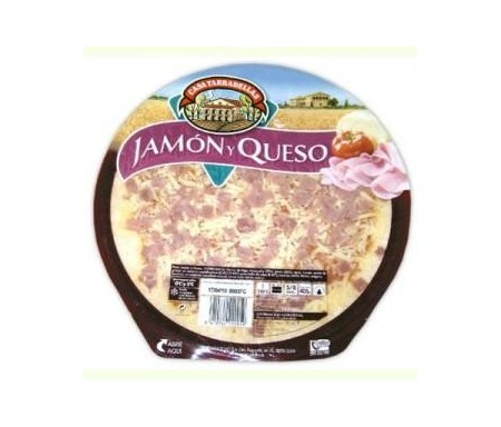 TARRADELLAS PIZZA FRESCA JAMON/QUESO 425gr