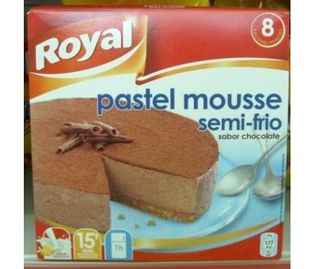 ROYAL PASTEL MOUSSE CHOCOLATE 200gr