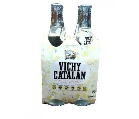 VICHY CATALAN AGUA C/GAS 50CL PACK-4