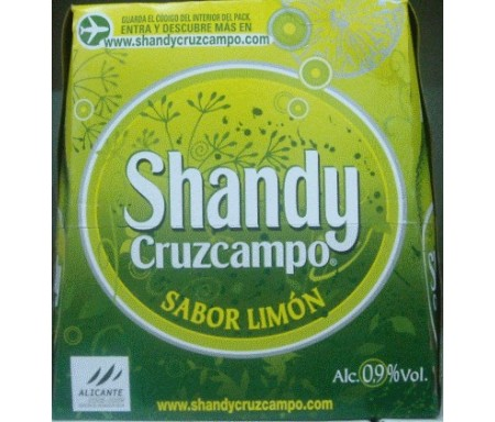 CRUZCAMPO SHANDY 25cl PACK-6