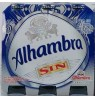 ALHAMBRA CERVEZA SIN ALCOHOL 25cl PACK-6